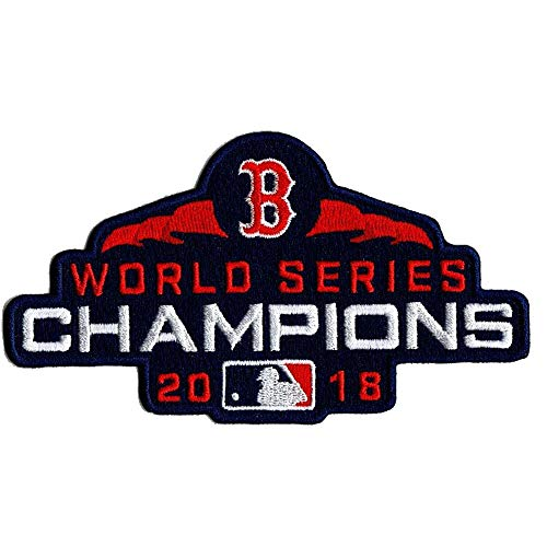 World Patch Series Emblem (Emblem Source Boston Red Sox 2018 World Series Champions Collectors Patch)