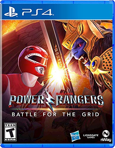 Power Rangers: Battle for the Grid Ranger Edition - PlayStation 4 (Power Ranger Xbox Games)