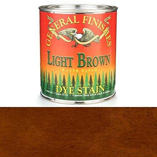 general-finishes-dql-water-based-dye-1-quart-light-brown