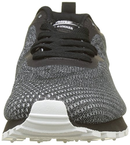 Uomo White MD Nike Nero Ginnastica 008 2 Basse Runner Black Black ENG Scarpe da Mesh zdqOdf