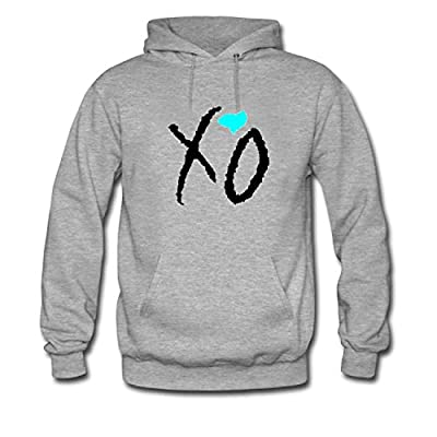 CHXU Women's I Love XO the Weeknd Cool Long Sleeve Hoodie