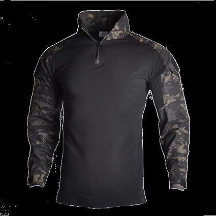 Militar ropa de caza militar Multicam ejército camisa cazador ...
