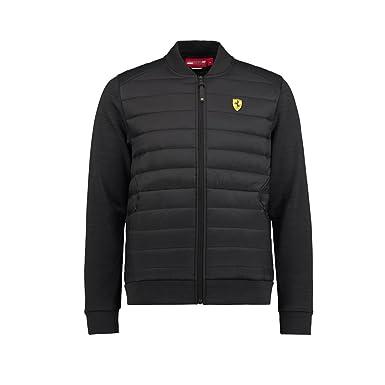 36a9494b991df Scuderia Ferrari Formula 1 Men's Black Bomber Jacket