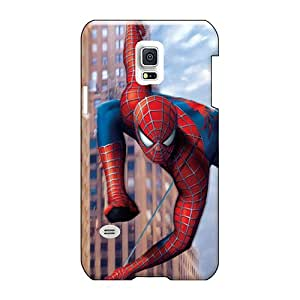 LeoSwiech Samsung Galaxy S5 Mini High Quality Hard Cell-phone Cases Allow Personal Design Colorful 3d Spiderman Pattern [pNx20344oVXQ]