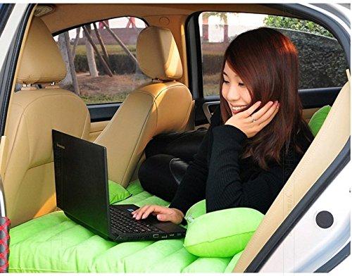 Shag Car Travel Air Bed Pvc Inflatable Mattress Pillow