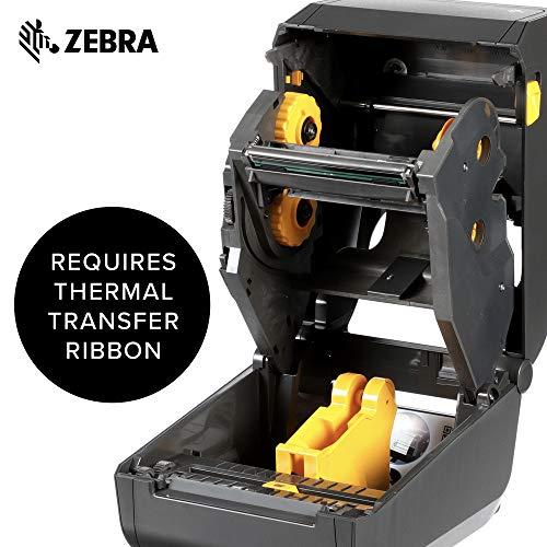 Zebra - ZD420d Direct Thermal Desktop Printer for Labels and Barcodes - Print Width 4 in - 203 dpi - Interface: USB, Ethernet - ZD42042-D01E00EZ by Zebra Technologies (Image #4)