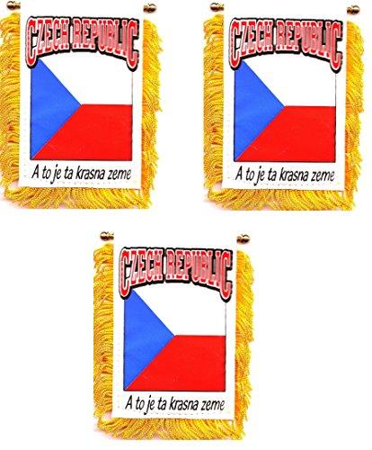 World Flags Direct Pack of 3!! Czech Republic 3 1/2