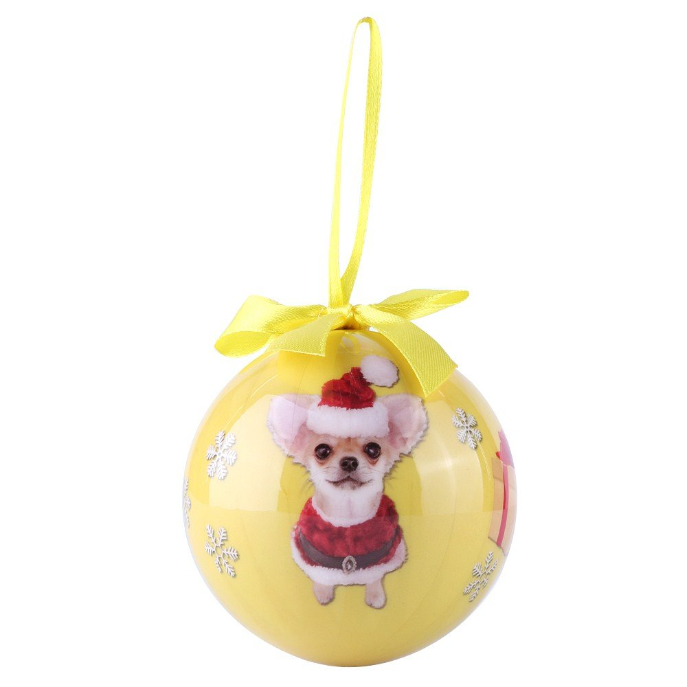 CueCue Pet ORNDOG110 Animal Collection Christmas Ball Ornament Décor by CueCue Pet (Image #4)