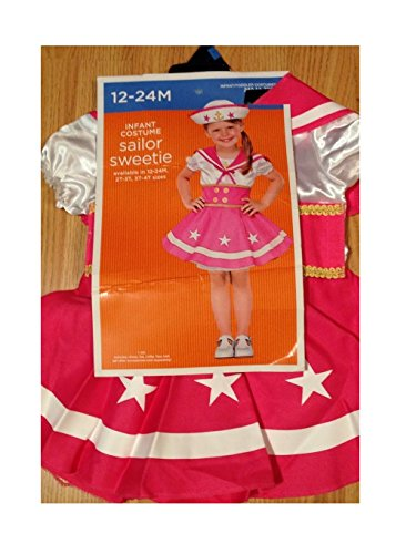 Target Costumes (Toddler Costume - Sailor Sweetie (3T-4T))