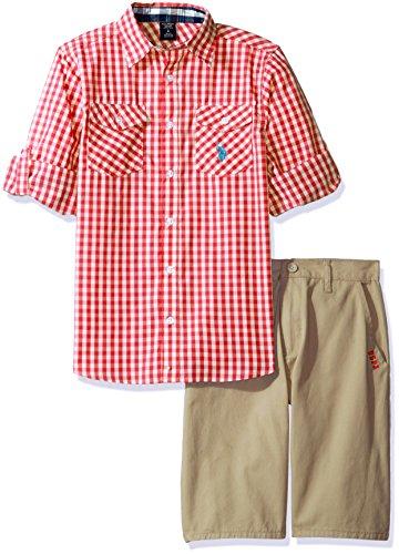 Gingham Boy Short - 6