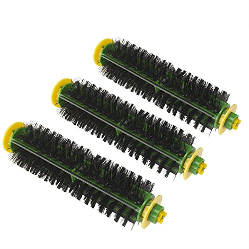 For Eufy RoboVac 11S RoboVac 3 Parts Spare Brushes Filter Kit 8pc Accessories
