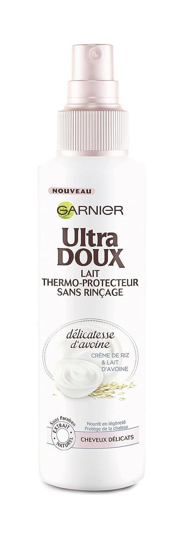 Garnier Ultra Doux - Leche termoprotectora para cabello fino y delicado, avena: Amazon.es: Salud y cuidado personal