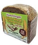 HummlingerYeast Free Whole Wheat Germ Bread, GMO FREE 17.6oz (6 packs)