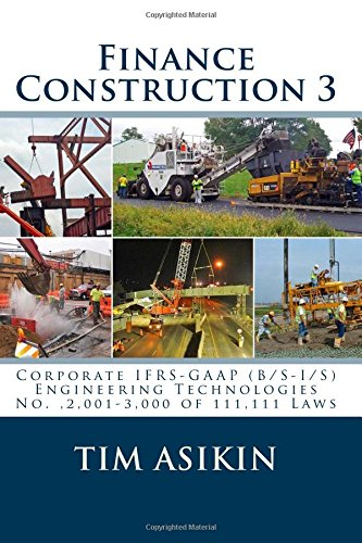Finance Construction 3: Corporate IFRS-GAAP (B/S-I/S)  Engineering Technologies  No. ,2,001-3,000 of 111,111 Laws