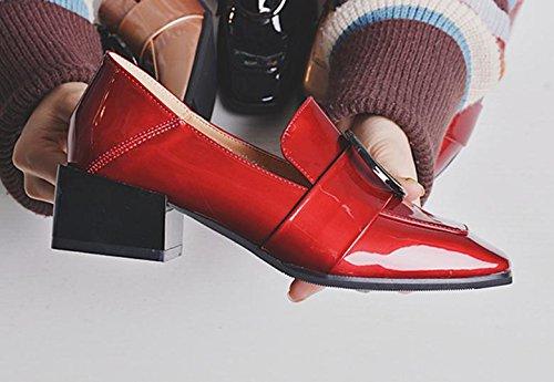 Petites Petite Rondes Chaussures Chaussures Chaussures Sauvages Le Avec Rouge Carrés Chaussures Avec Une De Des Sport Avec Des Côté Nouveau BnwPIv