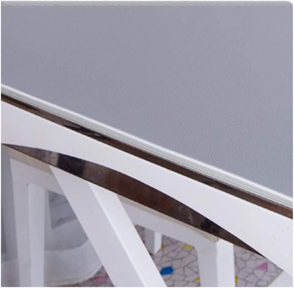 Color : Gray, Size : 85x140cm Table Protector Desk Mat Computer 3.5mm Mouse Pad Flame Retardant Wear Resistant 3 Colors,Customizable Size ALGFree