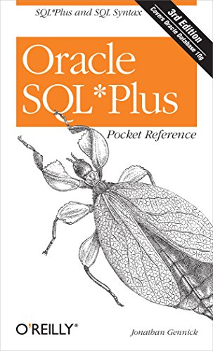 Oracle SQL*Plus Pocket Reference (Pocket Reference (O'Reilly)) Pdf