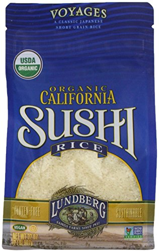 Lundberg Family Farms Organic White Sushi Rice, 32 Ounce