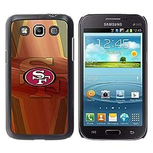 SF Equipo deportivo - Metal de aluminio y de plástico duro Caja del teléfono - Negro - Samsung Galaxy Win I8550