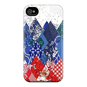 Premium Sochi 2014 Olympics Russian Pattern Back Cover Snap On Case For Iphone 4/4s