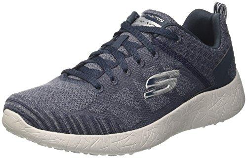 Skechers Herren Burst-Athis Sneaker Blau (NVGY)