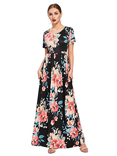 maxi dress and high heels - 9