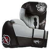 Hayabusa Tokushu 16oz Boxing Gloves - Black-Grey
