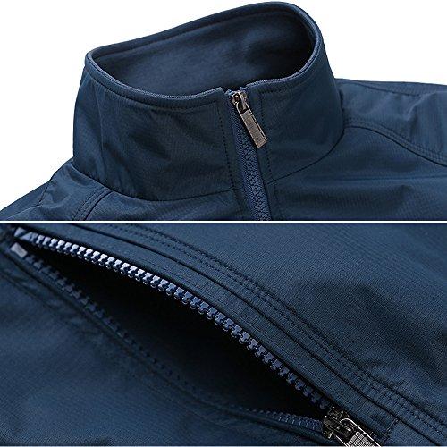 Buona Qualità Moda Giacca Di Poliestere In Abbigliamento Qqer® Nero Uomo Poliestere 8U4nwOP