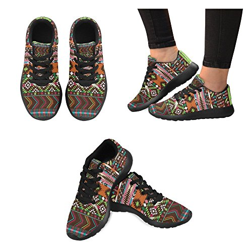 Interestprint Femmes Jogging Running Sneaker Léger Aller Facile Marche Confort Sport Athlétique Chaussures Multi 3