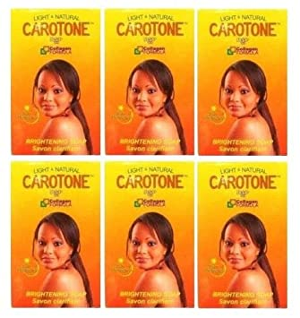 Carotone Brightening Soap 6.7 Oz Pack of 6