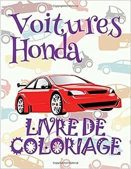 Voitures Honda Livre De Coloriage Voitures Livre De