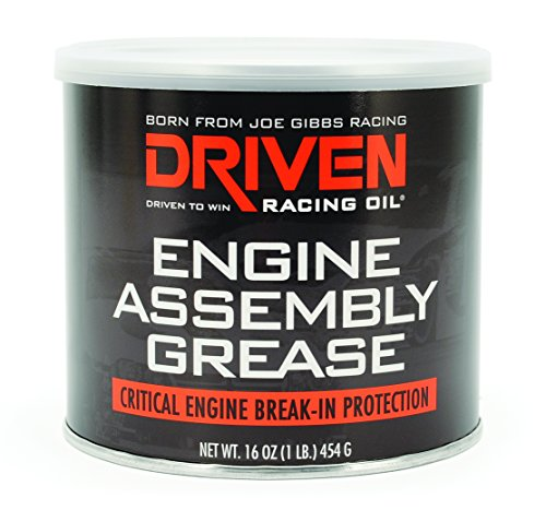 Joe Gibbs Driven Racing Oil 00728 Extreme Pressure Engine Assembly Grease - 16 oz. Tub