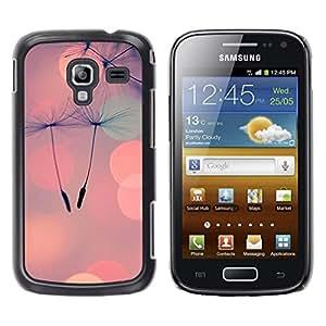 iKiki Tech / Estuche rígido - Seed Peach Love Spring Summer - Samsung Galaxy Ace 2 I8160 Ace II X S7560M