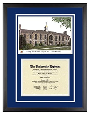 Amazon.com: University of Rhode Island Diploma Frame with URI ...