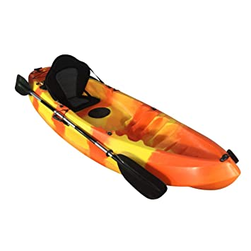 Cambridge Kayaks - Kayak Unisex, Color Naranja y Amarillo ...
