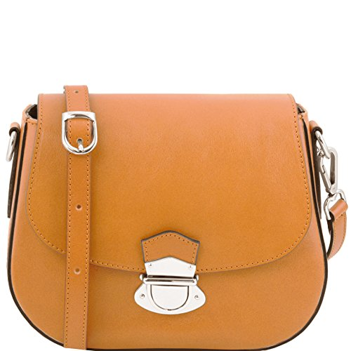 81415174 - TUSCANY LEATHER: TL NEOCLASSIC - Sac bandoulière en cuir, miel
