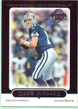 051fa304f69 Drew Bledsoe 2005 Topps Black #262 - Dallas Cowboys at Amazon's ...
