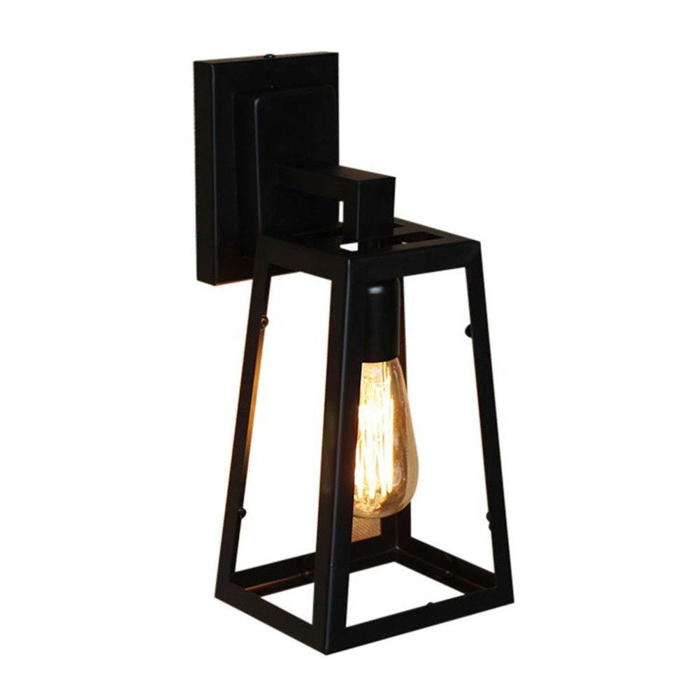 Wandbeleuchtung Wandlampen des Europäischen Retro- industriellen Wind dekorative Lampe Wandlampe im Freien Lampen des Schmiedeeisens Bdiong