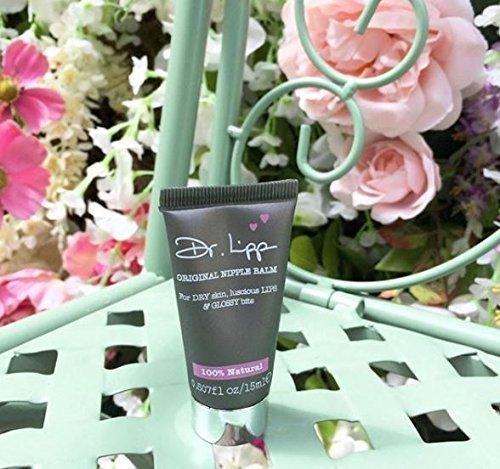 Dr. Lipp - Original Nipple Balm, All Natural Multi-Purpose Balm for Dry Skin, Luscious Lips, and More - 0.507 oz (15ml) Tube by Dr. Lipp (Image #1)