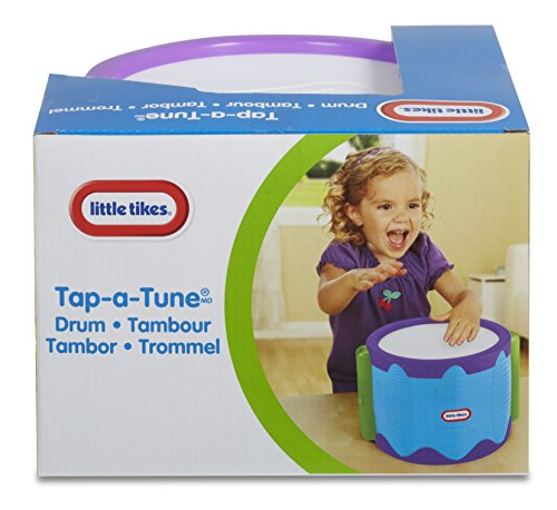 51Lya08KUvL - Little Tikes Tap-A-Tune Drum Baby Toy
