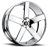 6 lug dub rims - DUB Baller 24 Chrome Wheel / Rim 6x5.5 with a 31mm Offset and a 78.1 Hub Bore. Partnumber S115240077+31