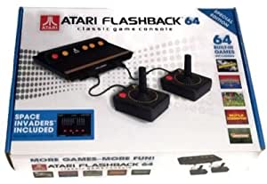 Atari flashback 64 special edition classic game console with wired controllers - Atari flashback 3 classic game console ...