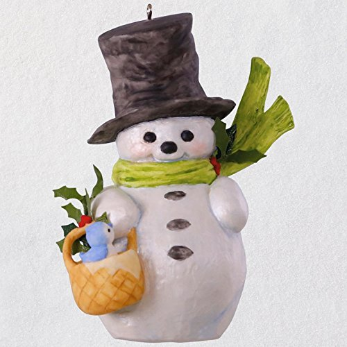 (Hallmark Keepsake Christmas Ornament 2018 Year Dated, That's Snow Sweet Snowman Mary Hamilton)