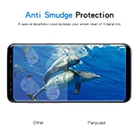 Galaxy S8 Screen Protector,Galaxy S8 Tempered Glass,Panycase [3D Curved] [Case-Friendly] Tempered Glass Screen Protector for Samsung Galaxy S8 from Panycase