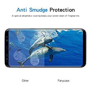 Galaxy S8 Screen Protector,Galaxy S8 Tempered Glass,Panycase [3D Curved] [Case-Friendly] Tempered Glass Screen Protector for Samsung Galaxy S8 by Panycase