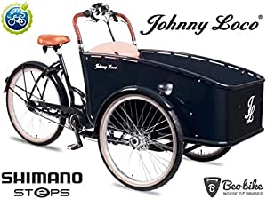 Johnny loco E-cargo Dutch Delight Shimano motor: Amazon.es ...