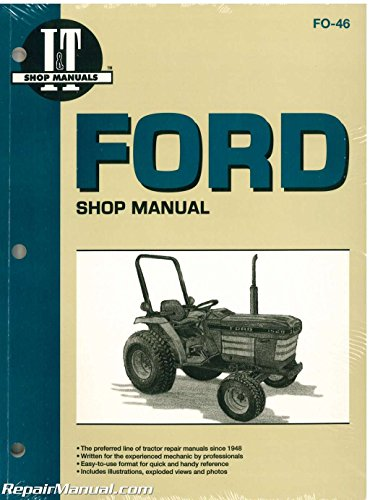 Manuals Ford Tractor Poster 1932-1986
