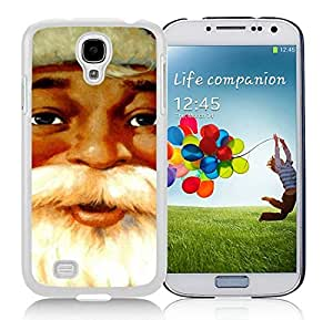 Recommend Design Samsung S4 TPU Protective Skin Cover Santa Claus White Samsung Galaxy S4 i9500 Case 14