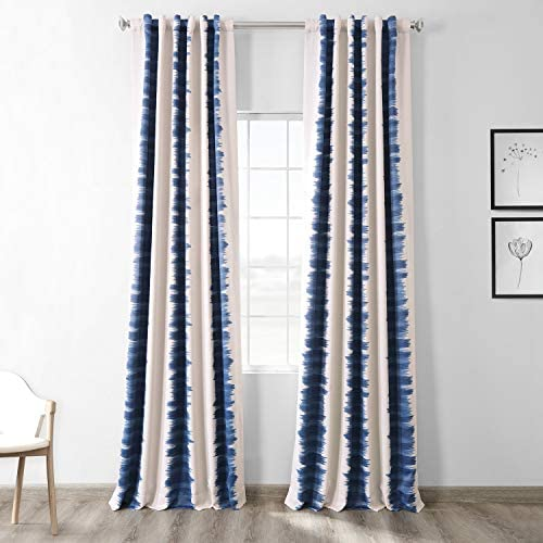 HPD Half Price Drapes BOCH-KC101A-108 Blackout Room Darkening Curtain 1 Panel