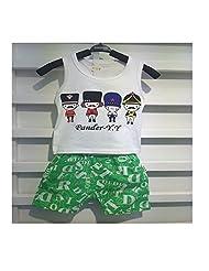 C'est Moi Boys T-shirt Pants Tee Shorts Suits Vest Thin Two Pieces Sets